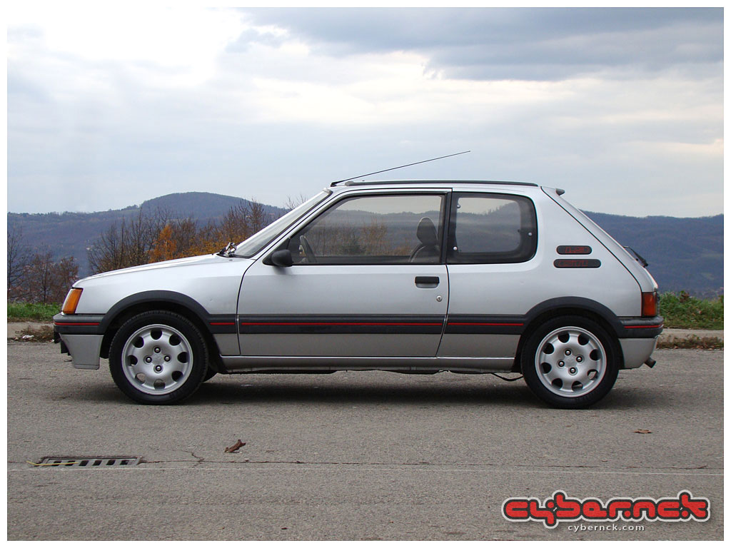 Most probably the best example of 205 GTI in Bosnia. It's a very rare car here. But miracles obviously do happen!