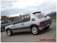 However, the real reason I bought it is a tribute to a silver 205 GTI 1.9, which made me and my father fall in love with 205 GTIs, 20 years ago!