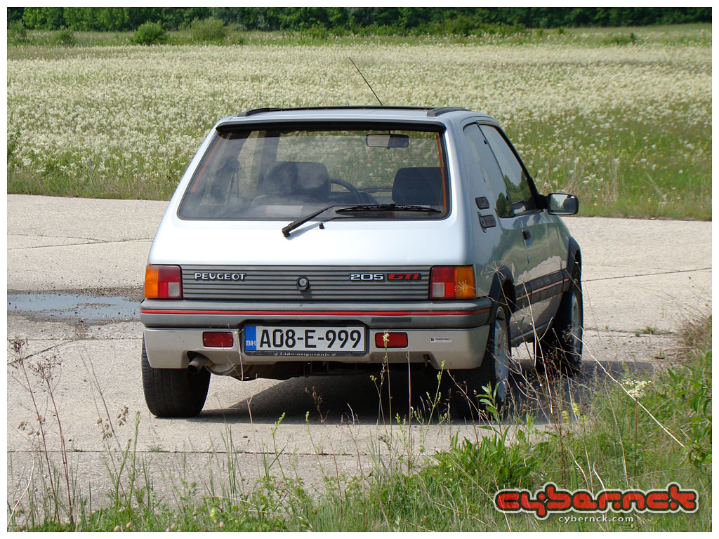 Unfortunately, with both of them in need of restoration, one had to go. I decided in favour of the Miami Blue and eventually managed to sell the Silver one. I'm not happy about it but I've had no other choice.  BYE BYE 205 GTI 999! :-(