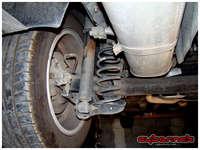 Old rear suspension.