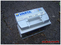 My 205 GTI needed a new battery, so I nicked it from the 307, which I replaced with a new Varta Silver Dynamic 63Ah battery.