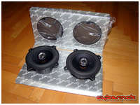 """...so I purchased nearly new Focal 130CA (5""""/13cm coaxials) speakers for the rear doors. Not that I will hear them much but rear passengers may do."""