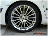 """TSW Pace 7x18"""" ET25 with 225/40/18 Toyo T1R tyres."""