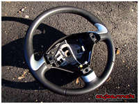 And here's a genuine 307 CC leather steering wheel from a breaker's yard in the UK (thank you Simon).