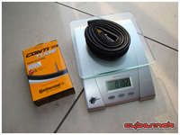 Continental Race 28 inner tube - 100 g without the cap and nut.