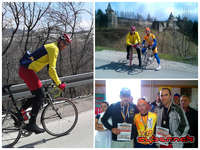 During March and April, I kept riding, racing...