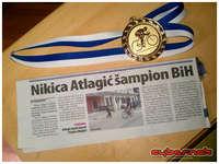 Nikica Atlagić - The Champion of Bosnia & Herzegovina for the year of 2013.