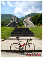 ...and it was all about doing a hilly and twisty ride from Sarajevo to Tjentište in National Park Sutjeska and back.