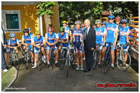 10/Sep/2013 - I went on a ride with B&H Youth Cycling Camp, endorsed by French ambassador in B&H, Roland Gilles, and with a guest presence of his wife, Claudia Carceroni, multiple World Champion title winner.
