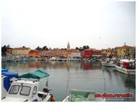 I spent the next day doing an easy 110 km ride on rolling terrain along the coastal towns of Umag, Novigrad and Porec.