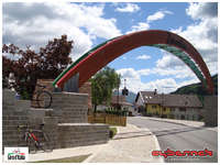 And now for one of the best rides of my life! On 14th of May I jumped into the car and headed off to Italian Alps to do the best part of 20th stage of 2014 edition of Giro d'Italia - a couple of weeks prior to the race! I started in Ovaro but I had a long way ahead of me before I were to return to this spot and climb the infamous Monte Zoncolan.