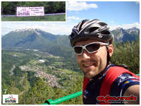 From Ovaro I went to Villa Santina to join the race route and continued to Ampezzo, where the 11 km long 1st category climb of Passo del Pura begins. Half of it is averaging at 9.8% and the steepest section is 13% near the 1428 alt. m summit.