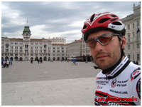 """Of course, we've had another superb gelato at """"Zampolli"""" and then took some nice rides back to Momjan. It was a really nice cycling week, but sadly I got back home to massive floodings going on in Bosnia, Croatia and Serbia."""