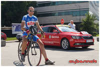 Sarajevo Grand Prix was supported by ASO / Tour de France, therefore Christian Prudhomme and his trademark red Skoda were there as well. Also, in the days leading to the race day, we have attended a special ride with past TdF champions.