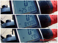 The stats: ~252 km, 8h50min riding time, 28.5 km/h avg, with mostly head-wind.
