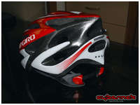 Giro Monza helmet - much nicer, lighter, more comfortable and better ventilating than my old crappy Prowell helmet.