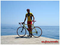 I simply love the mix of sea and cycling.