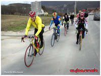 Group training with my fellow riders from BSK cycling club...