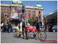 17/Apr/10 - Cycle race in Belgrade.