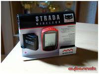 Red Cateye Strada Wireless cyclocomputer was added a few days later.