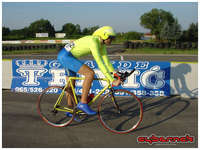 A little bit of history first. Unlike previously, in 2008 racing season I discovered that I'm mentally and physically ready for time-trialing and first time did a TT race properly. I enjoyed it too. I finished 2nd in Bosnia & Herzegovina National Championships in Elite category. The plan was to go one place better in 2009.