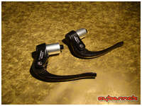 Tektro RX 5.0 Carbon brake levers - and very nice and light.