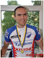 ...and Gold medal it was! :-D Additionally, I was also the fastest competitor in general classification, therefore an absolute National Time Trial Champion!
