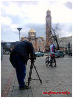 Following all my achievements in 2011, I was nominated for the best athlete of Republic of Srpska. Here's a photo from the video shoot, featuring my Scott Plasma.