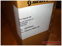 This time round it was a brand new and mighty 2011 Scott Plasma 2 10 HMX frameset in size L.