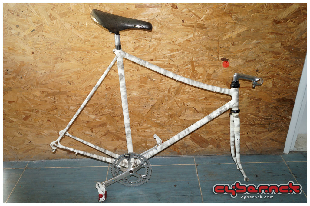 "Very soon after my initial purchase, I stumbled across something I really wanted - a ""LoPro"" frame. As a bonus, it had turned out to be a very rare 1987 Fuji Team."