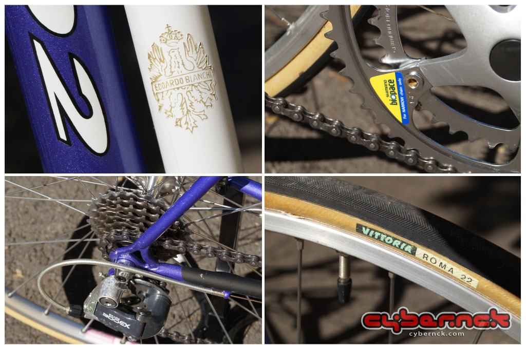 Bianchi Vento 602 details.
